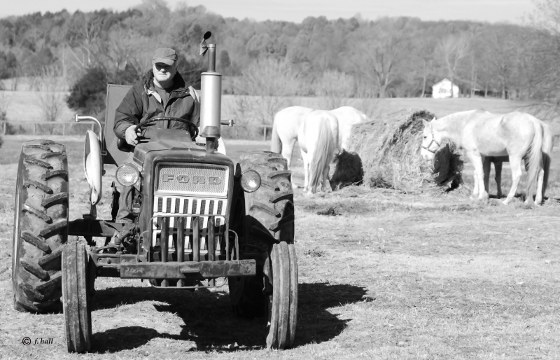 Farmer And His Ford
