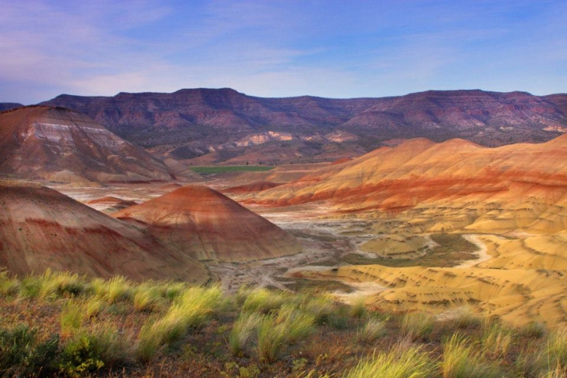 Painted Hills Scenic Point Looking Northeast