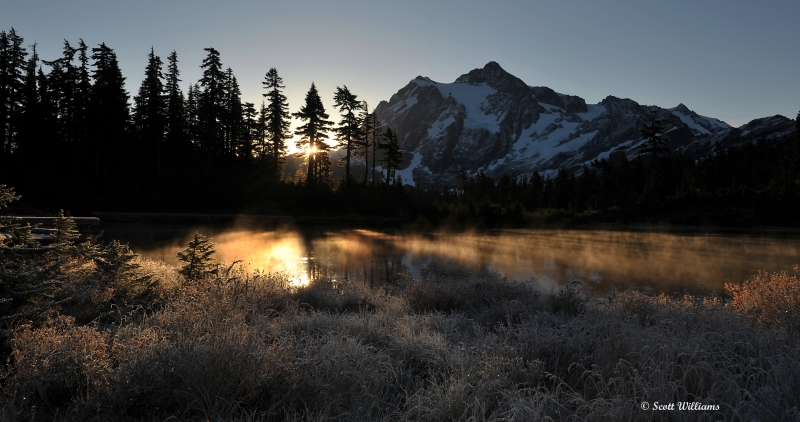 Mt. Shuksan – Sunrise
