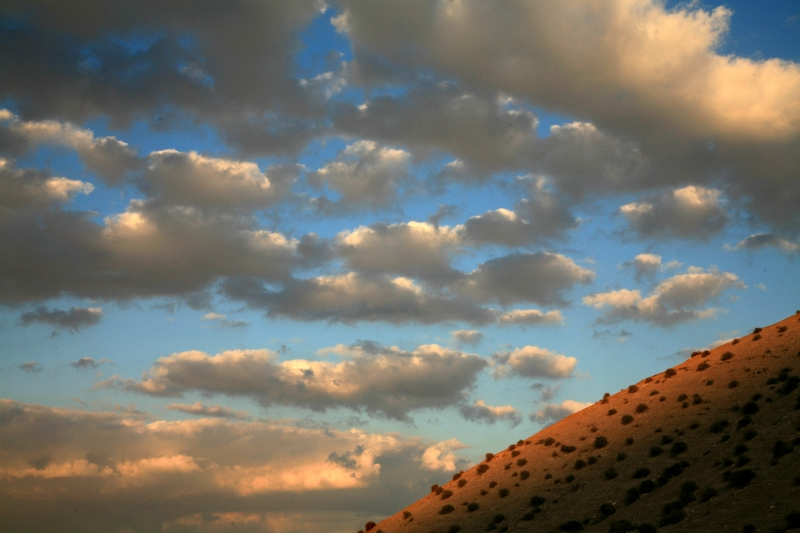 Judain Desert Clouds
