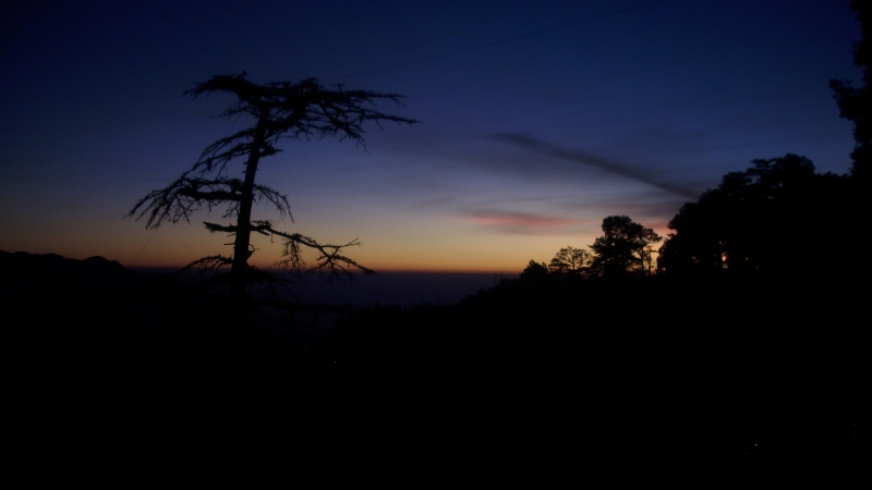 Sunset From Shimla