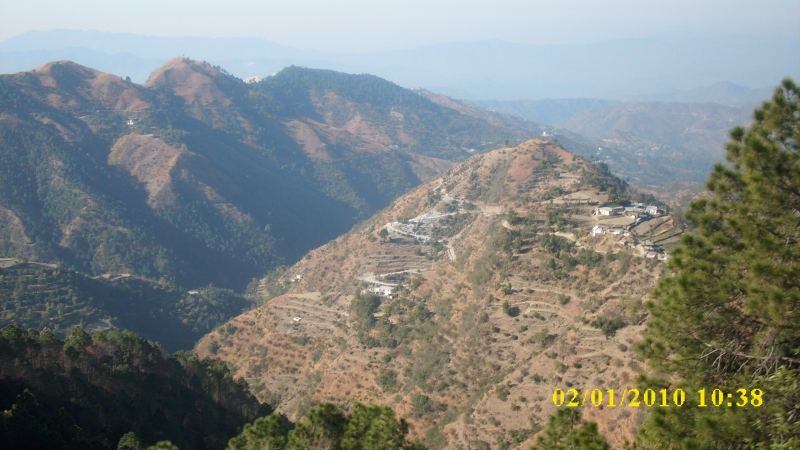 On The Way From Shimla To Kalka