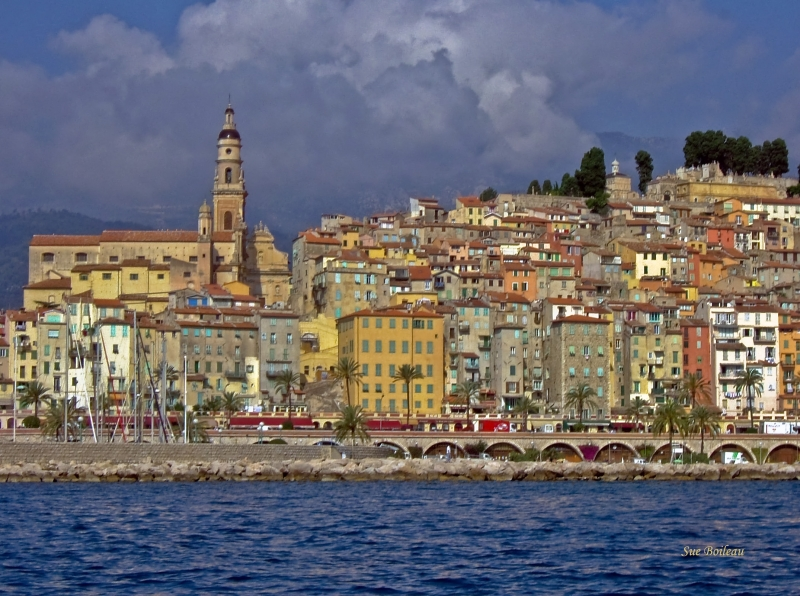 Menton In The Morning