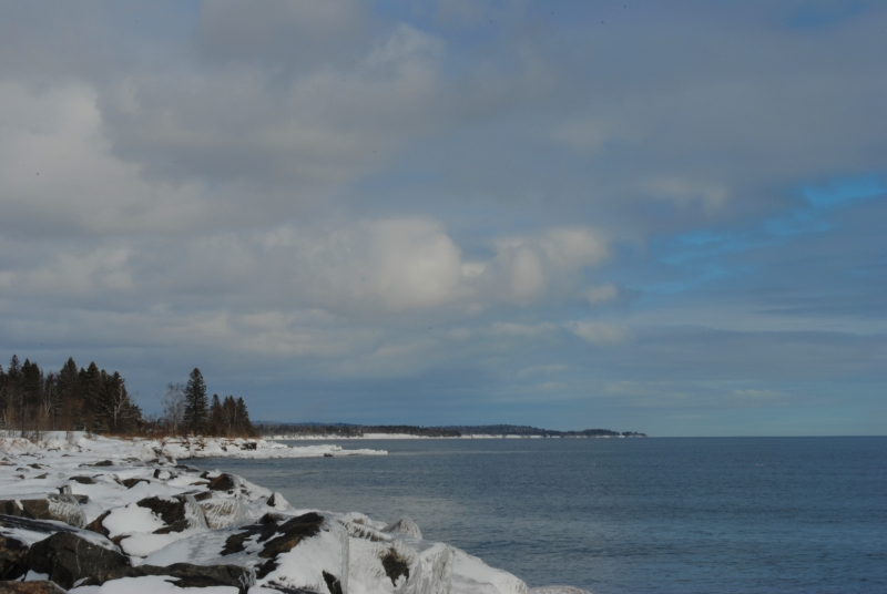 Winter Day On Lake Superior
