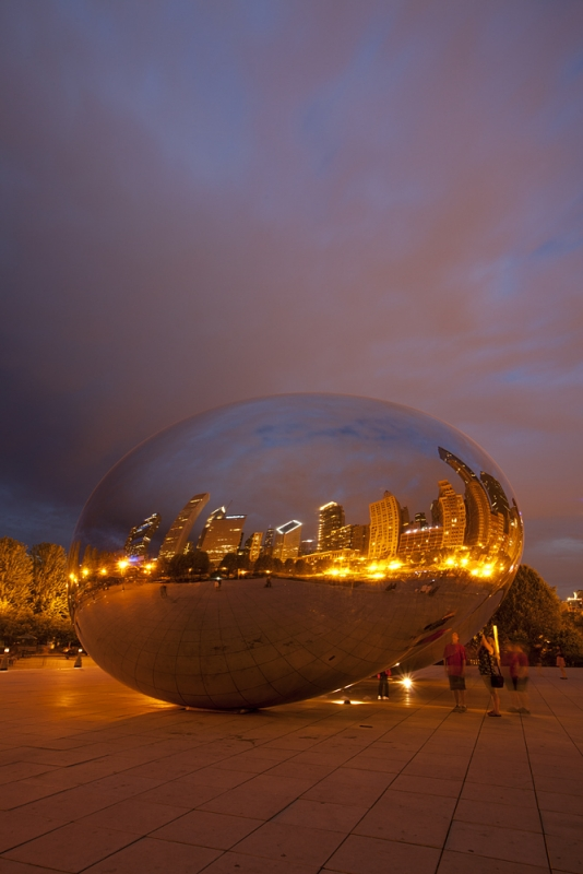 The Bean Reflects The Windy City