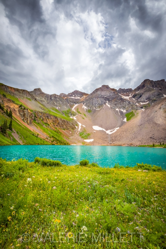 Blue Lakes Of Colorado