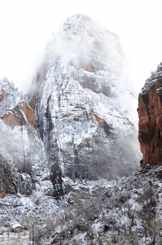 Great White Throne Zions National Park