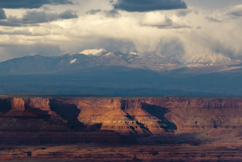 Canyonlands And Snowstorm