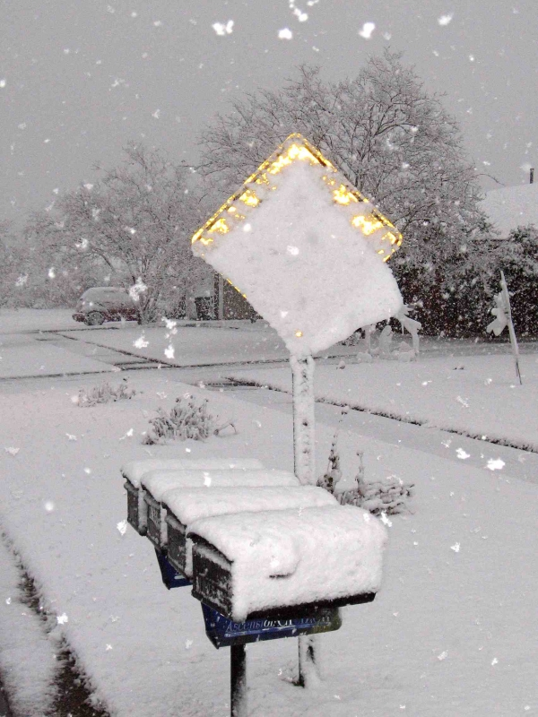 Sign Of Snow