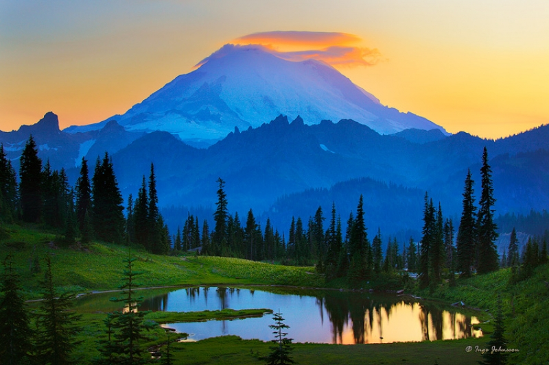 Mount Rainier Goodnight