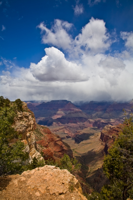 Immensity Of The Grand Canyon