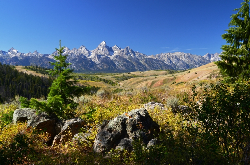 Grand Teton From Afar