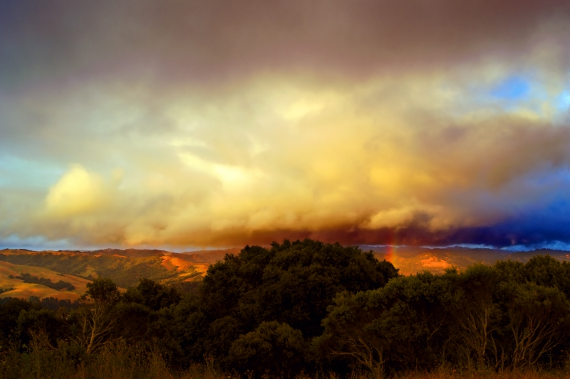 Tilden Storm And Rainbow