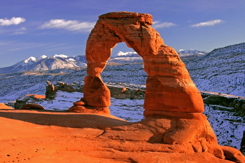 Sunset Over Delicate Arch, Arches N. P.