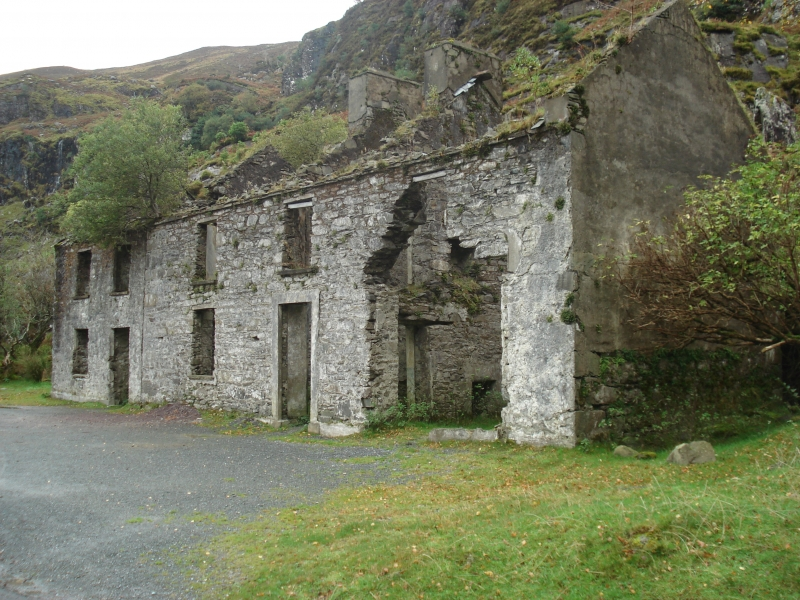 Stone Structure In Dunloe