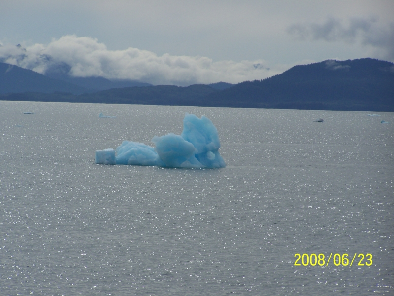 Alaskan Iceberg In Prince William Sound