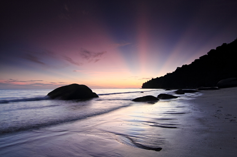 Magic Light – Penang National Park