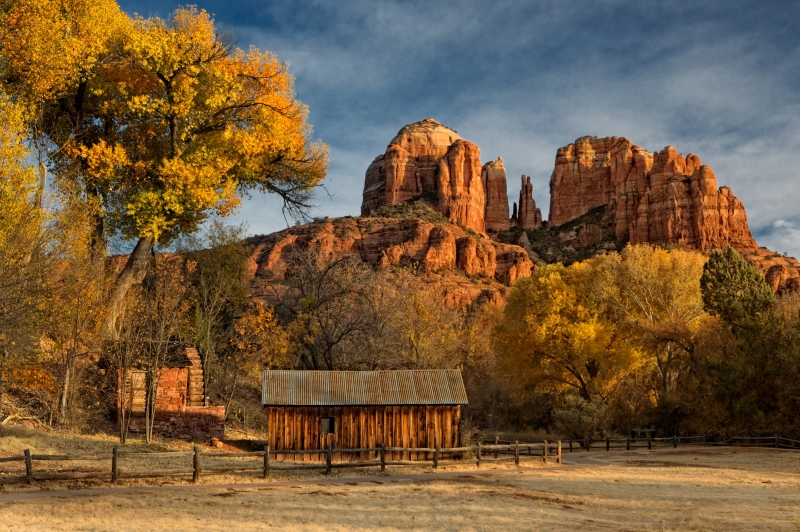 Sedona In The Fall