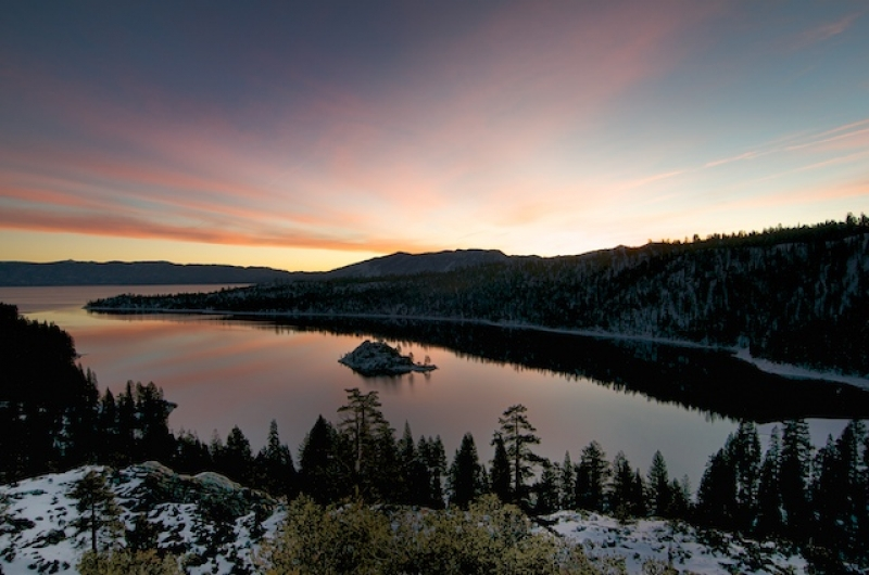 Sunrise At Emerald Bay