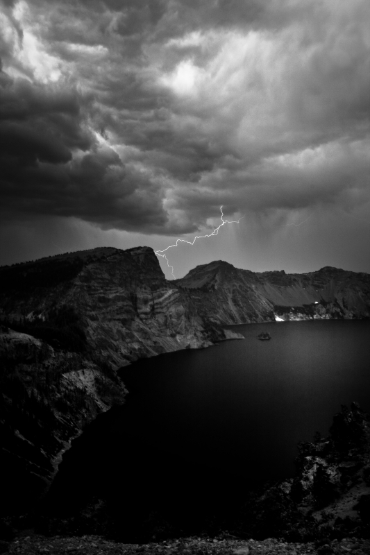 Crater Lake Thunderstorm