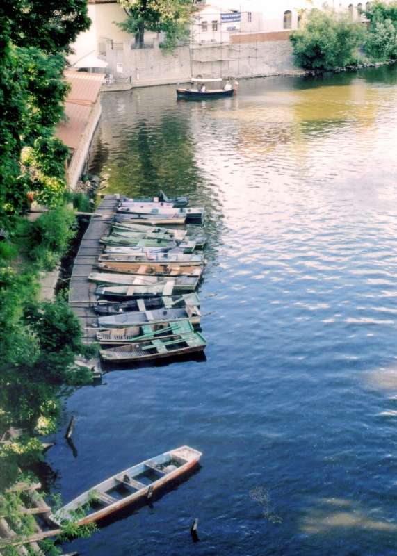 Boats In Prague