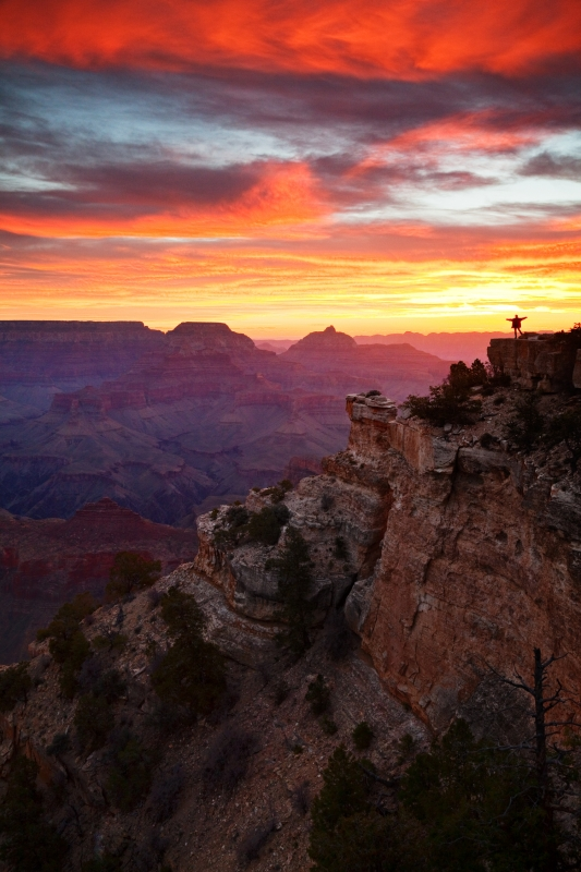 Welcoming The Sun – Grand Canyon National Park