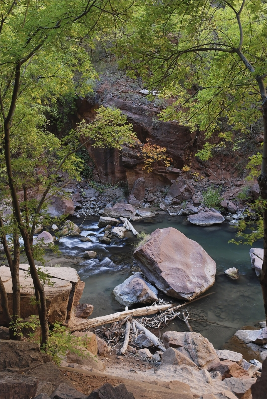River Walk To The Narrows At Zion