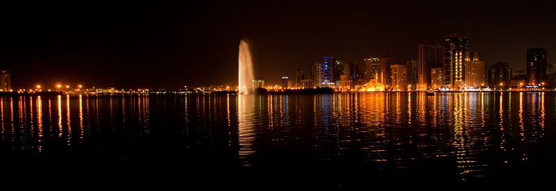 Buhaira Corniche During Water Festival