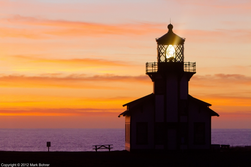 Cabrillo Point Light Station, Mendocino, California
