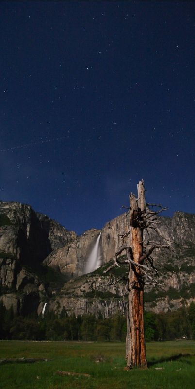 Big Dipper Over Yosemite Falls