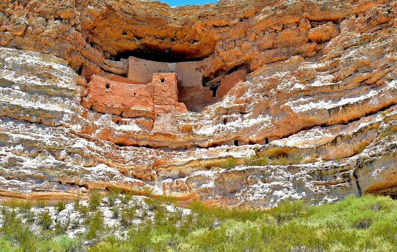 Montezuma Castle, Full Light