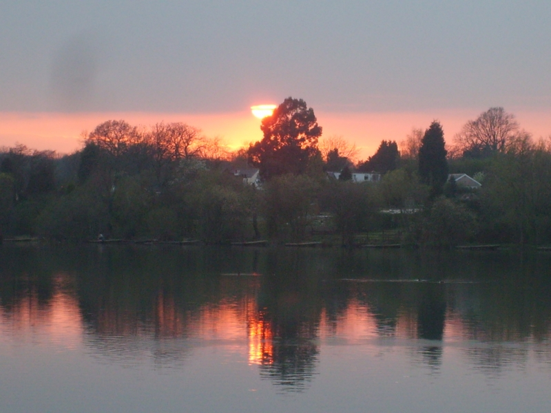 Sunset At Earlswood Lakes 2
