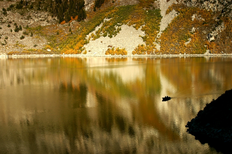 Lundy Lake Reflection