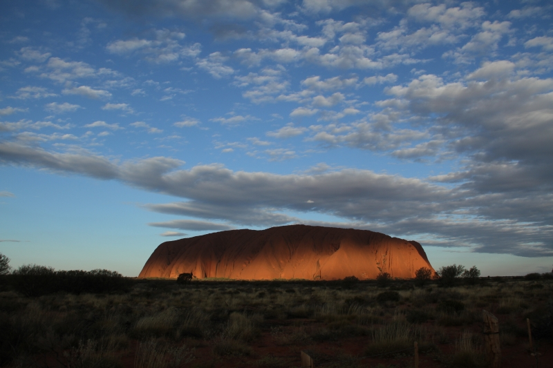 Uluru At Twilight