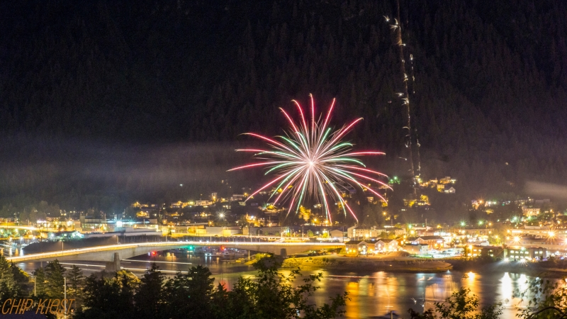 Fire Works July 3 Juneau Ak