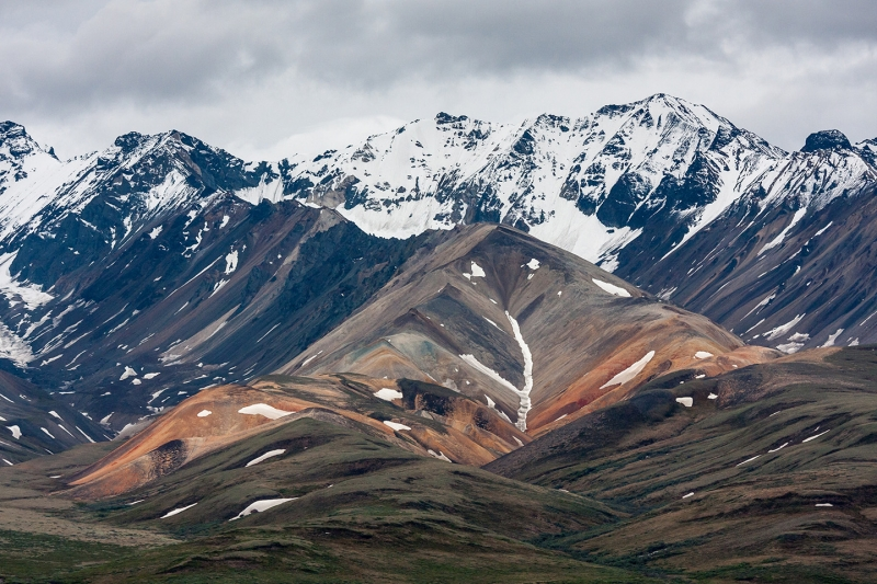 Alaska Range Mountains