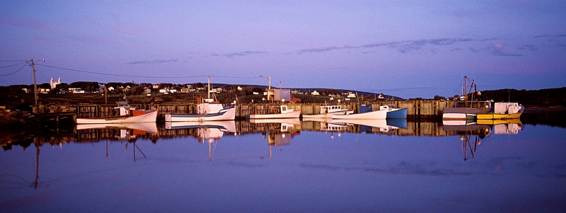 Boats At Rest In Nova Scotia