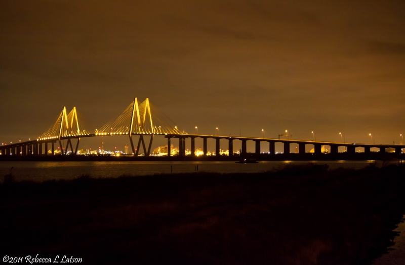 Fred Hartman Bridge, Near Laporte, Tx