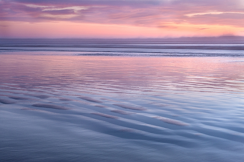 Pastel Sunset At Pismo Beach