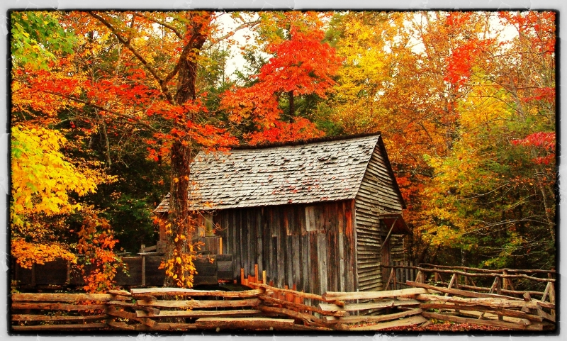 Mill In Cades Cove