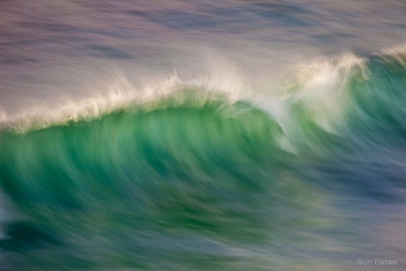 The Green Moment Of Backlit Waves Is My Moby Dick