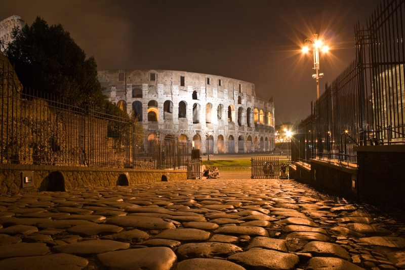 Flinty Road To Coloseum