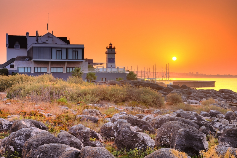 Sunrise In Cascais