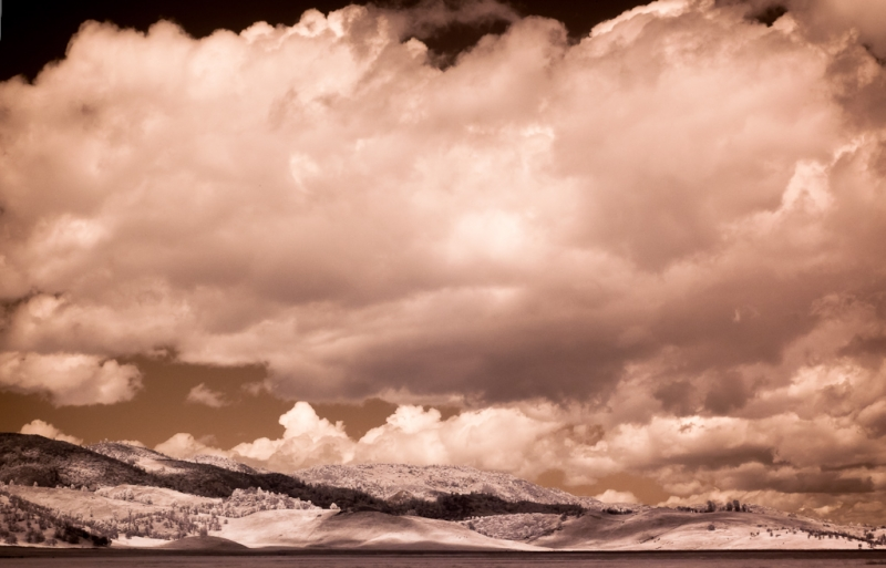 Bear Valley Spring Storm Clouds