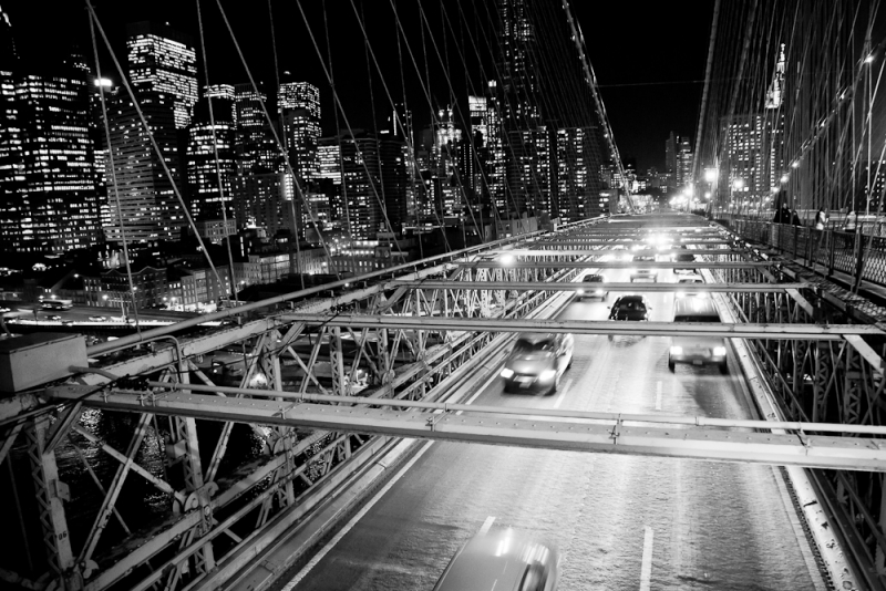 Cars, Brooklyn Bridge