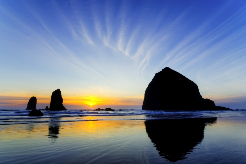 Haystack Rock And Needles