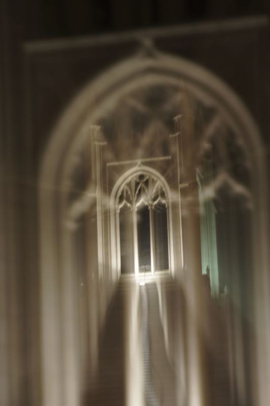 Church Steeple In Abstract