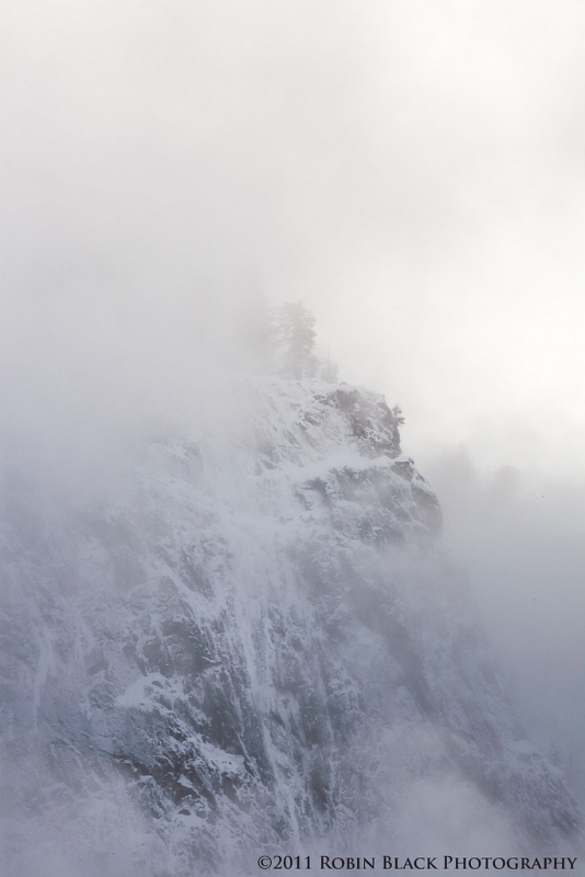 Ridge, Storm And Light (yosemite)