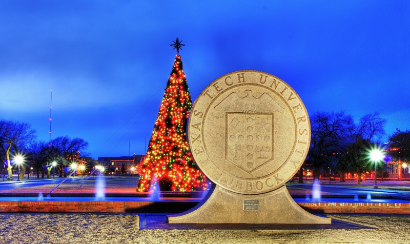 Texas Tech At Christmas