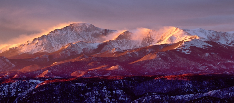 Pikes Peak Dawn